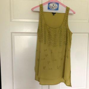 Tops - Chartreuse Bobeau blouse